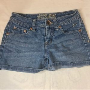 Justice Jean Shorts- Size 10